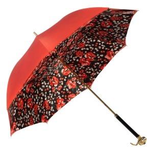 Зонт-трость Pasotti Coral Papavero Globe фото-2