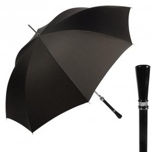 Зонт-трость Pasotti Diritto Onda Black фото-1