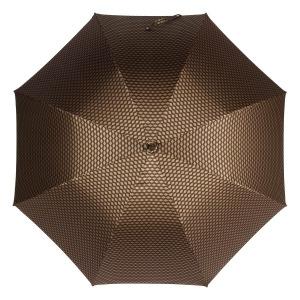 Зонт-трость Pasotti Esperto Classic Pelle Atene Marrone фото-3