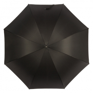 Зонт-трость Pasotti Falcon Silver Oxford Black фото-3