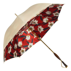 Зонт-трость Pasotti Ivory Lis Rosso Albena Swar фото-2