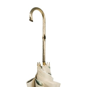 Зонт-трость Pasotti Ivory Ombra Oro фото-5