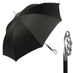 Зонт-трость Pasotti Kastet Niagara Black фото-1