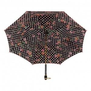 Зонт-трость Pasotti Magenta Flower Pois Vetro фото-3