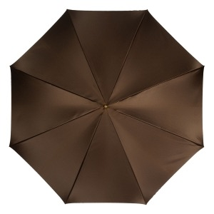 Зонт-трость Pasotti Marrone Cellula Legno фото-4