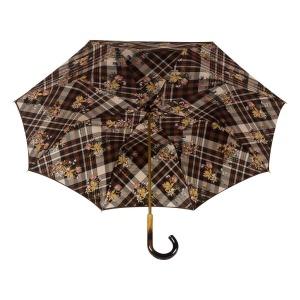 Зонт-трость Pasotti Marrone Cellula Legno фото-3