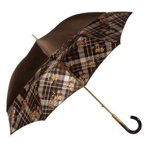 Зонт-трость Pasotti Marrone Cellula Legno фото-2