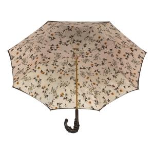 Зонт-трость Pasotti Marrone Milla Beige Pelle фото-3
