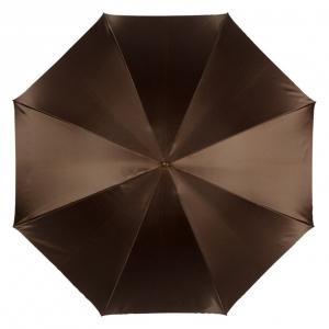 Зонт-трость Pasotti Marrone Rig Pelle фото-4