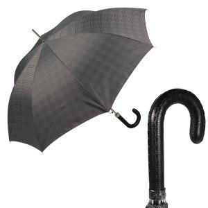 Зонт-трость Pasotti Mocasin Milford Grey фото-1