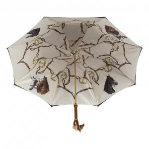 Зонт-трость Pasotti Morrone Horses Lux фото-3