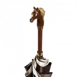 Зонт-трость Pasotti Morrone Horses Lux фото-5