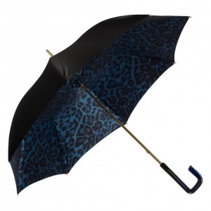 Зонт-трость Pasotti Neo Blu Leo Quattro фото-2