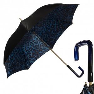 Зонт-трость Pasotti Neo Blu Leo Quattro фото-1