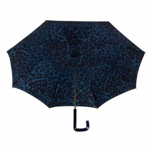 Зонт-трость Pasotti Neo Blu Leo Quattro фото-3