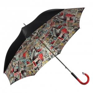 Зонт-трость Pasotti Nero Comics Plastica фото-2