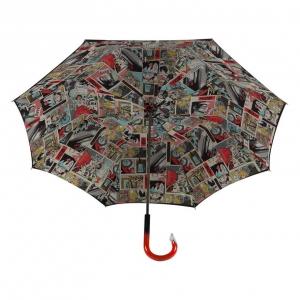 Зонт-трость Pasotti Nero Comics Plastica фото-3