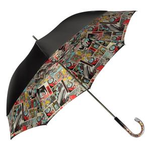 Зонт-трость Pasotti Nero Comics Plastica Multi фото-2