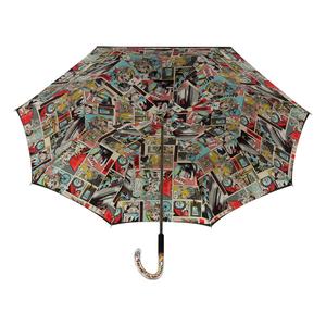Зонт-трость Pasotti Nero Comics Plastica Multi фото-3