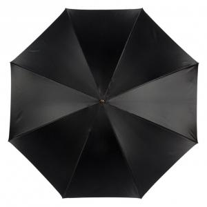 Зонт-трость Pasotti Nero Flower Pois Stone фото-4