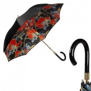Зонт-трость Pasotti Nero Jewels Pico Shik фото-1