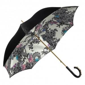 Зонт-трость Pasotti Nero Lace Plastica Fiore фото-2