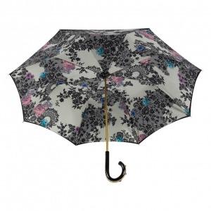 Зонт-трость Pasotti Nero Lace Plastica Fiore фото-3