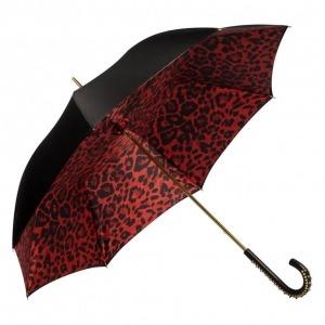 Зонт-трость Pasotti Nero Leo Spina фото-2