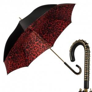 Зонт-трость Pasotti Nero Leo Spina фото-1