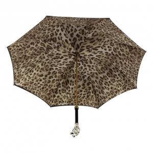 Зонт-трость Pasotti Nero Leoparde Lux фото-3