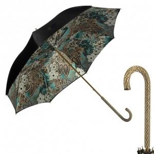 Зонт-трость Pasotti Nero Novita Biruza Strass фото-1