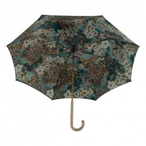 Зонт-трость Pasotti Nero Novita Biruza Strass фото-3