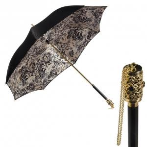 Зонт-трость Pasotti Nero Primiere Vetro фото-1