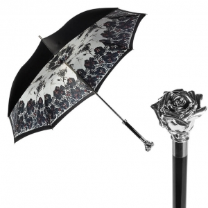 Зонт-трость Pasotti Nero Shaul Roza фото-1