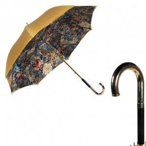 Зонт-трость Pasotti Ohra Gobelin Inox фото-1