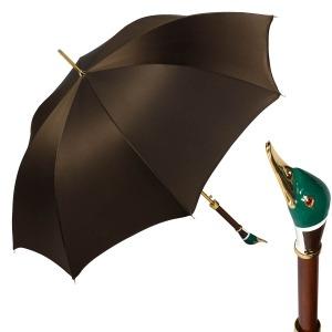 Зонт-трость Pasotti Oxford Marrone Drake Lux фото-1
