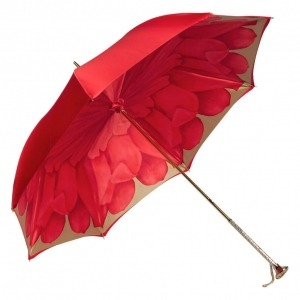 Зонт-трость Pasotti Rosso Coral Manual фото-5