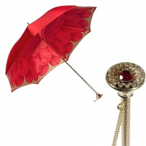 Зонт-трость Pasotti Rosso Coral Manual фото-1