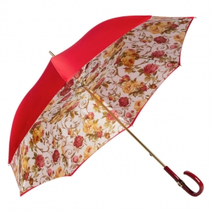 Зонт-трость Pasotti Rosso Roses Plastica Fiore фото-2