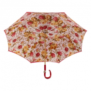Зонт-трость Pasotti Rosso Roses Plastica Fiore фото-3