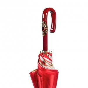 Зонт-трость Pasotti Rosso Roses Plastica Fiore фото-5