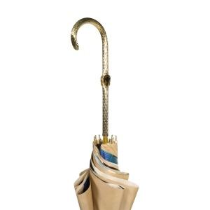 Зонт-трость Pasotti Sand Lis Blu Oro фото-5