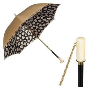 Зонт-трость Pasotti Sand Machi Nero Nacre фото-1