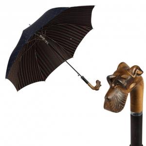 Зонт-трость Pasotti Schnauzer Cetrio Blu фото-1