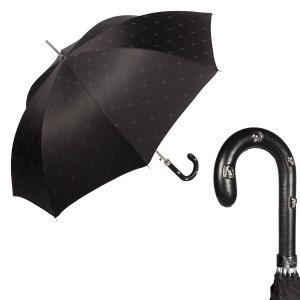 Зонт-трость Pasotti Sculls Pelle Sculls Black фото-1