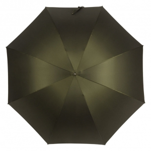Зонт-трость Pasotti Serpente Pelle Oxford Oliva фото-3