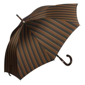 Зонт-трость Pasotti Smocked Hicory Big Stripes фото-2