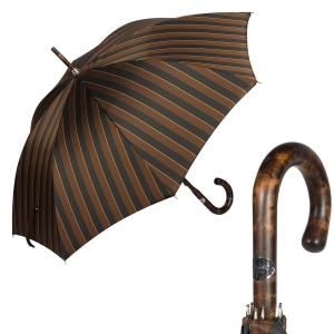 Зонт-трость Pasotti Smocked Hicory Big Stripes фото-1