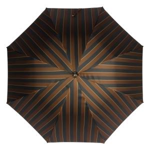 Зонт-трость Pasotti Smocked Hicory Big Stripes фото-4