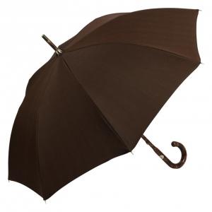 Зонт-трость Pasotti Smocked Hikory Milford Marrone фото-2